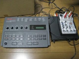 EWI3000m & SE-70 & ミキサー